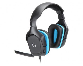 AURICULARES C/ MIC LOGITECH G432 7.1 BLACK PC PS4 XBOX SWITCH MOBILE