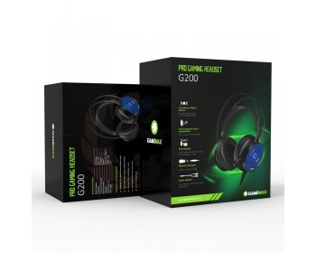 AURICULARES GAMEMAX G200 7 COLORES 3.5MM