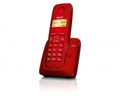 TELEFONO GIGASET A120 INALAMBRICO RED