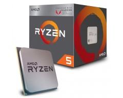 MICRO AMD RYZEN 5 2400G APU SOCKET AM4 6MB 3.9GHZ UNLOCKED