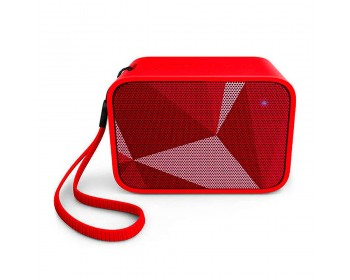 PARLANTE PHILIPS BT BT110R/00 PIXEL POP RED