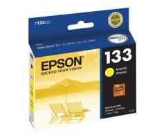 CARTUCHO EPSON 133 AMARILLO - P/ EPSON STYLUS T22,25 TX120,123,125,420W OF T320F