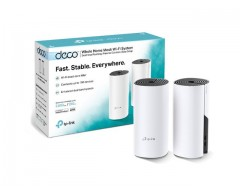 DECO E4 PACK 2 MESH TP-LINK AC1200 WIFI SYSTEM