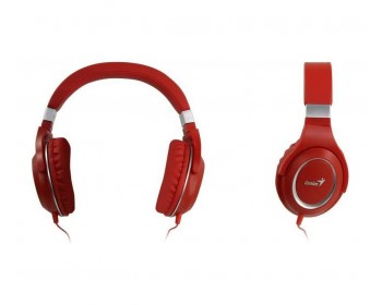 AURICULAR GENIUS HS-610 RED C/MIC