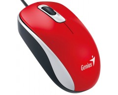 MOUSE GENIUS DX-110 USB RED