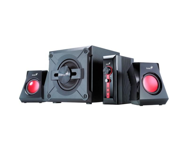 PARLANTES GENIUS SW-G2.1 1250 BLACK