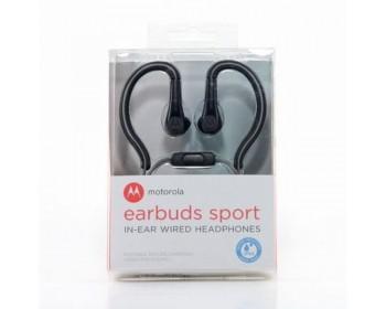 AURICULAR MOTOROLA EARBUDS SPORT IN-EAR NEGRO