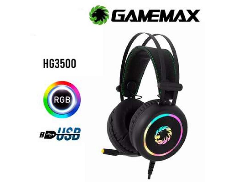 AURICULARES GAMEMAX HG3500 USB 7.1 RGB