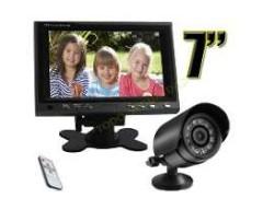 """KIT 7"""" LCD C/CAMARA C/AUDIO CONTROL REMOTO"""