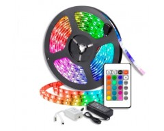 KIT LUCES LED RGB 5050 5MT