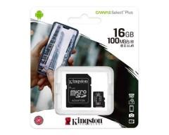 MEMORIA MICRO SD 32GB KINGSTON UHS-I (U1) 100MBPS CANVAS