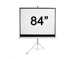 """PANTALLA LOCH CON TRIPODE 84"""" TS84"""