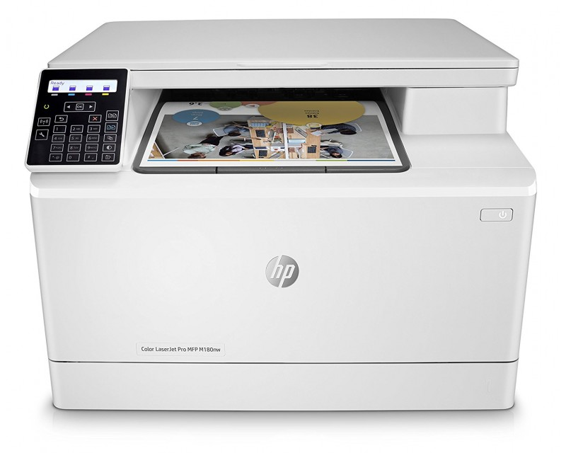 # IMPRESORA LASER MULTIFUNCION COLOR HP M180NW