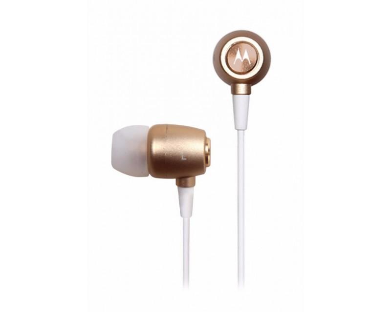 AURICULAR MOTOROLA EARBUDS METAL IN-EAR GOLD