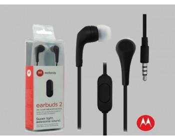 AURICULAR MOTOROLA EARBUDS 2 IN-EAR SLATE