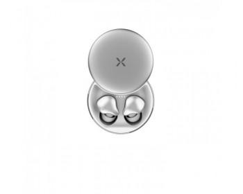 AURICULARES NOBLEX EARBUDS TWS SILVER HP40TWSW