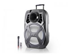 PARLANTE CARRITO NISUTA NS-PA15B BT FM MP3 LED