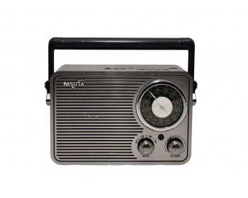 RADIO AM/FM VINTAGE MP3-BT-AUX NISUTA NS-RV19