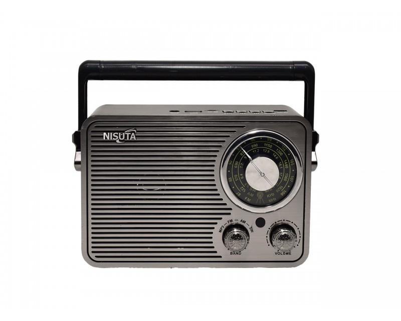 RADIO AM/FM VINTAGE MP3-BT-AUX NISUTA NS-RV19