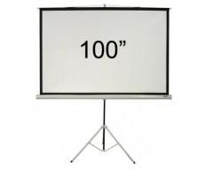 PANTALLA INTELAID CON TRIPODE 100 Pulgadas IT-TPS100