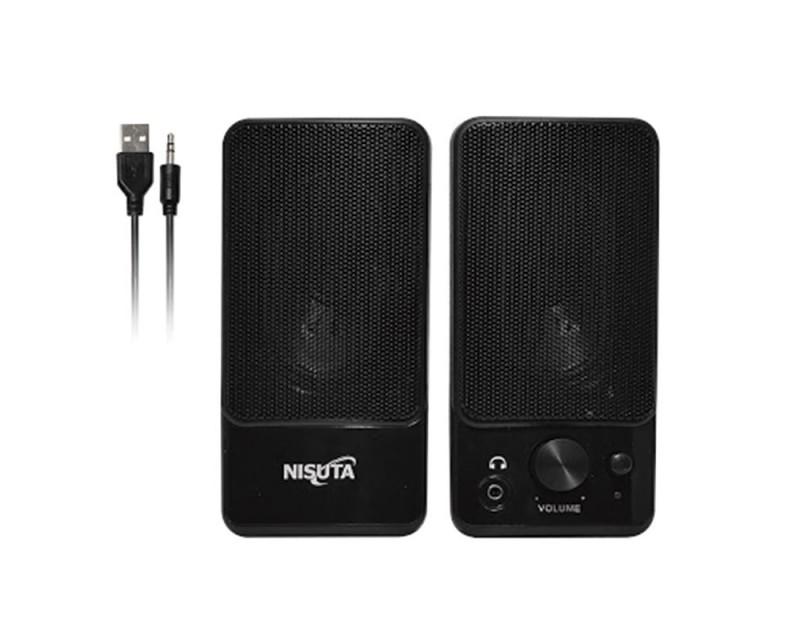 PARLANTE USB 2.0 4W NISUTA NS-PAU64