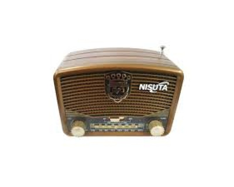 RADIO AM/FM VINTAGE MP3-BT-AUX NISUTA NS-RV16